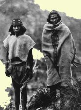 Two Tarahumara men photographed in Tuaripa, Chihuahua, in 1892 by Carl Lumholtz
