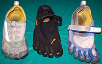 Our 3 Favourite Vibram Five Fingers!