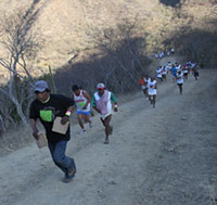 Tarahumara - Copper Canyon Ultramarathon. By eliduke (Flickr)