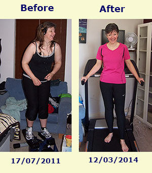 Running To Lose Weight - The Before And After