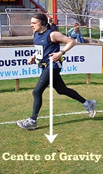 Me with an over-stride and heel strike (2011)