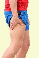 running cramps - thigh